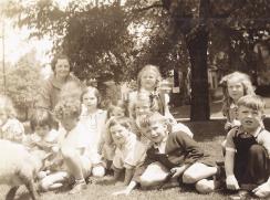 Kindergarten & Gertrude Coursen 1937
