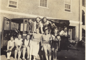 Girls Hiking Club 1933