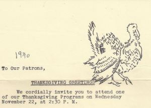 Thanksgiving 1940