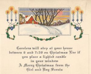 Christmas Carol Program 1