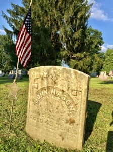 John Mason Gravesite at Hickory Grove Cemetery